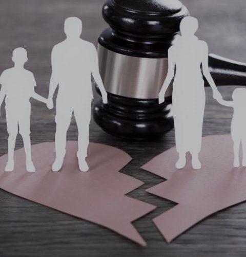 Skilsmisse og barnefordeling